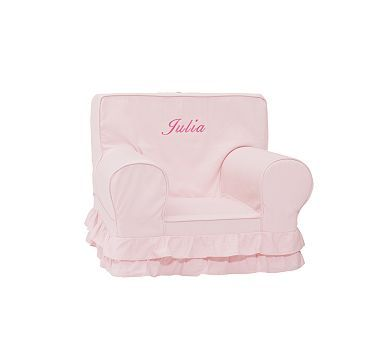 Pink Luxe Ruffle Anywhere Chair(R)