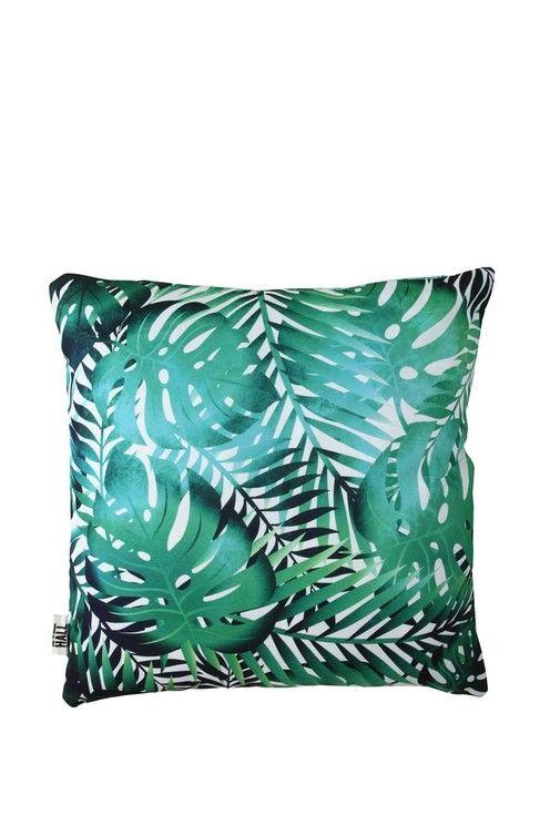 printed cushion TAHITI PALMS