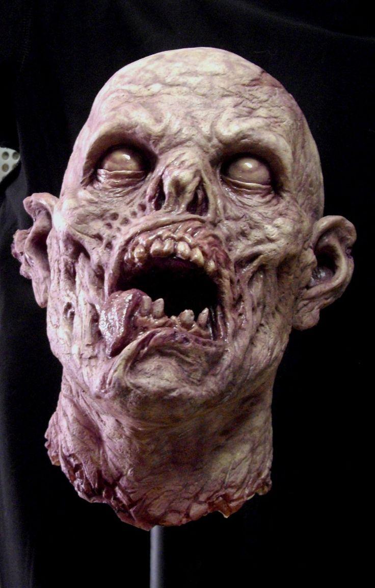 styrofoam head painting   Severed zombie head by ~BOULARIS on deviantART