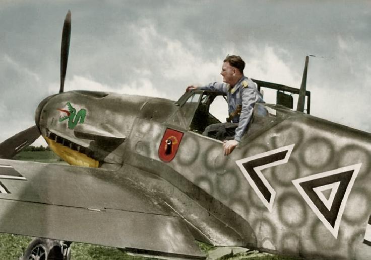 Hauptmann Hans von Hahn - Bf.109 F2 - Stab I./JG 3 - Lutsk/USSR - July 1941