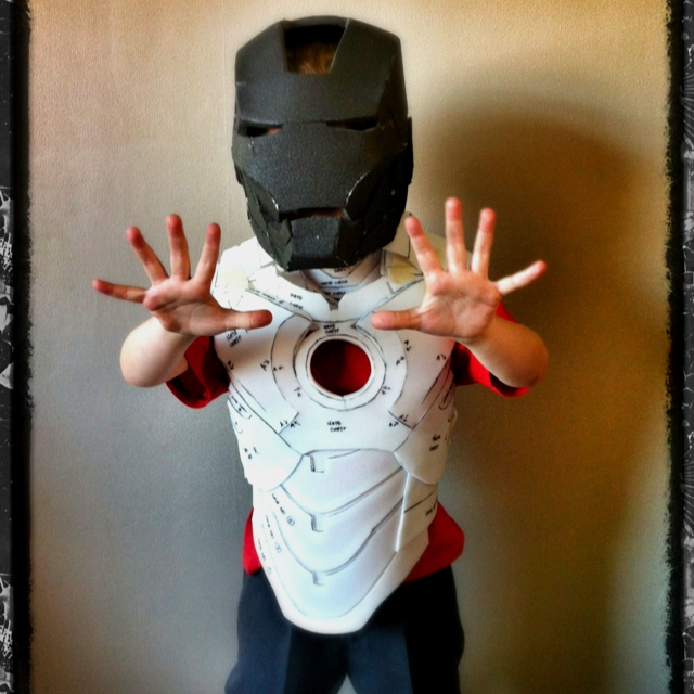 iron man foam armor templates - progress pic of the kids foam iron man suit diy iron