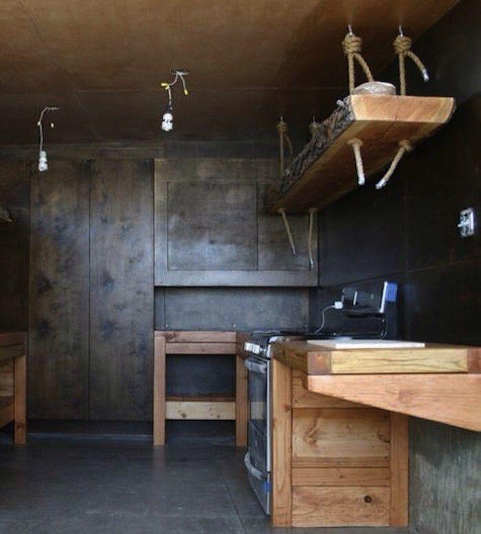Hanging Open Kitchen Shelves: 13 Best Hanging Kitchen Cabinets Images On Pinterest