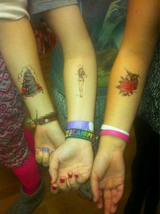 Tatts ;-)