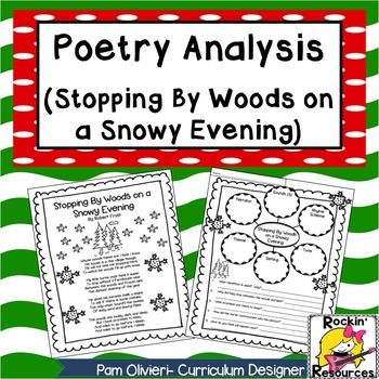 a critical analysis of stopping by woods on a snowy evening by robert frost Stopping by woods on a snowy evening - online text : summary, overview, explanation, meaning, description, purpose, bio.
