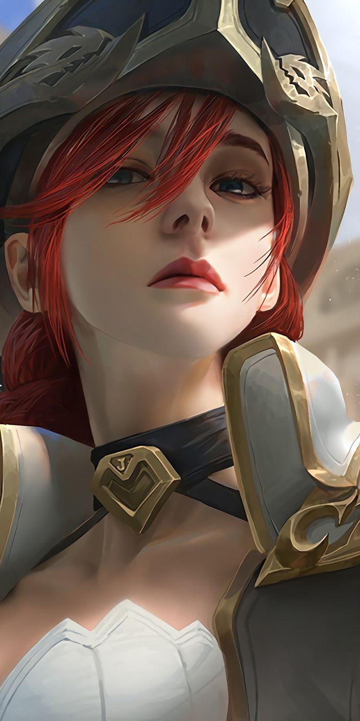 Miss fortune, League of Legends, beautiful, 1080x2160