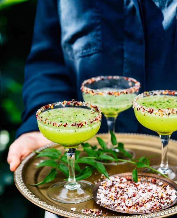 Get in the mid-winter Mexican groove with this tangy tipple. Serves 4
