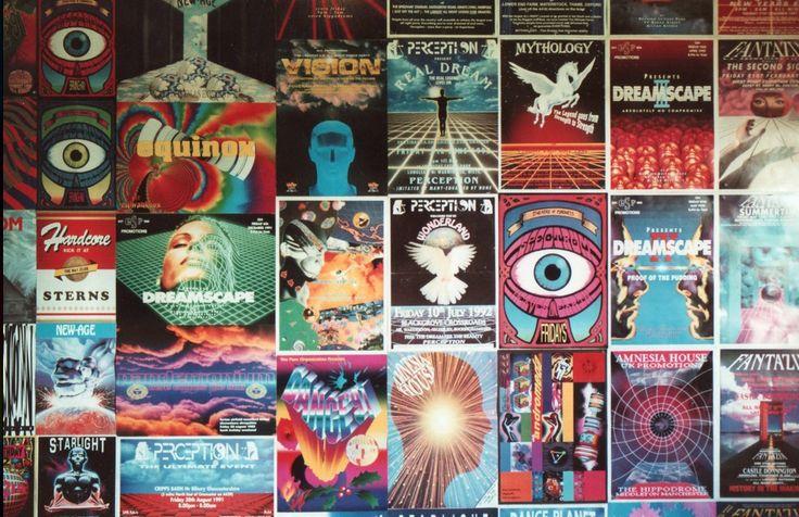 Rave flyers..... Dreamscape !!