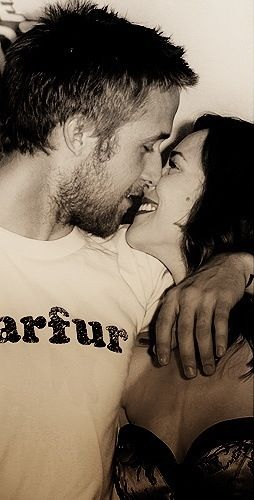 Love...Rachel Mcadams and Ryan Gosling. They are my favorite couple ever... And I will FOREVER hold out hope for them.