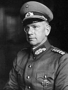 Wehrmacht Field Marshal Walther von Reichenau - 10 Army, 6 Army