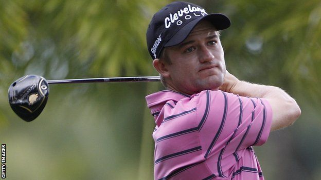 Scottish golfer Russell Knox