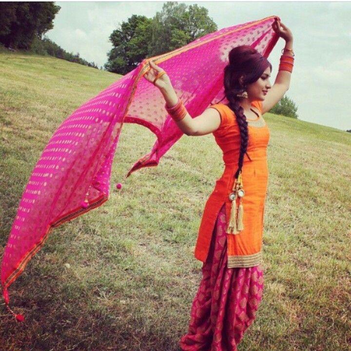 Image result for images of punjabi girls in proper punjabi dress