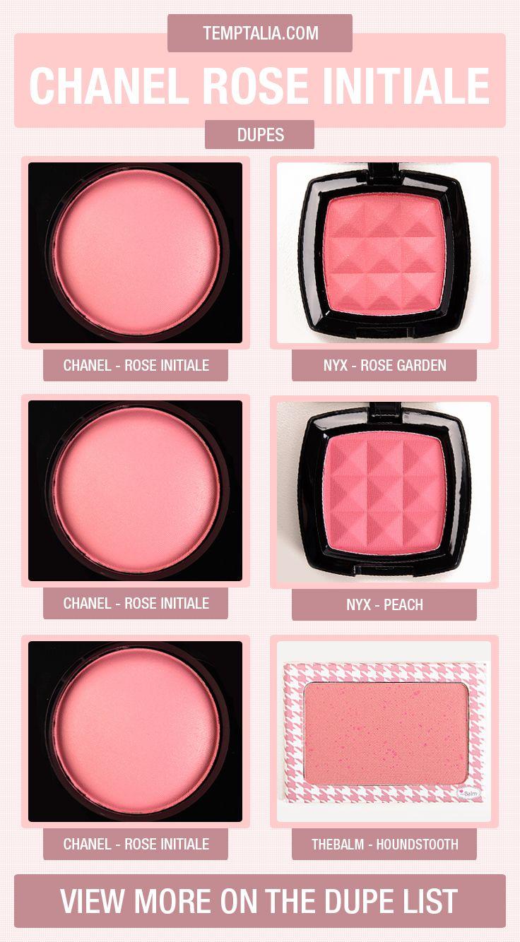 Chanel Rose Initiale Dupes & Comparisons Makeup dupes