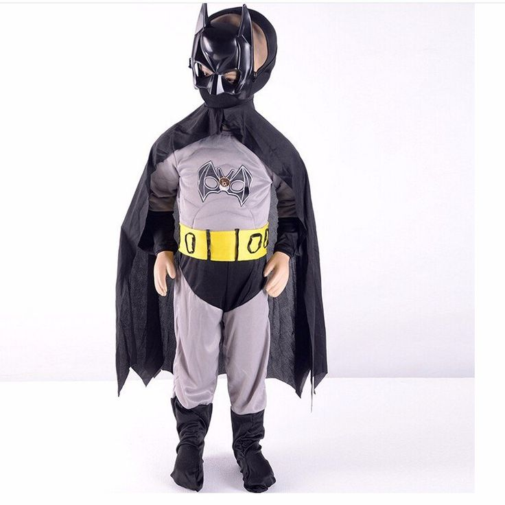 Halloween Party Boys Batman Costume