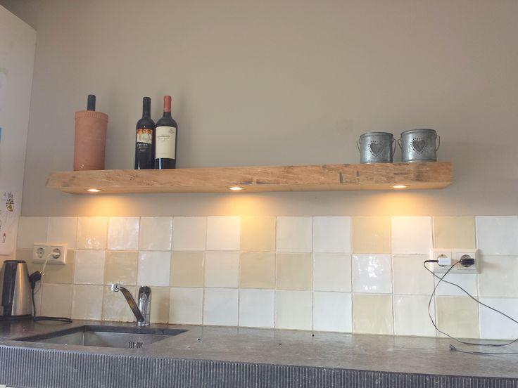 25 beste idee n over massief eiken op pinterest eettafel bank en houten eettafels - Wandbekleding keuken roestvrij staal ...