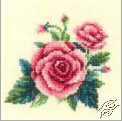 Roses - Cross Stitch Kits by RTO - EH333