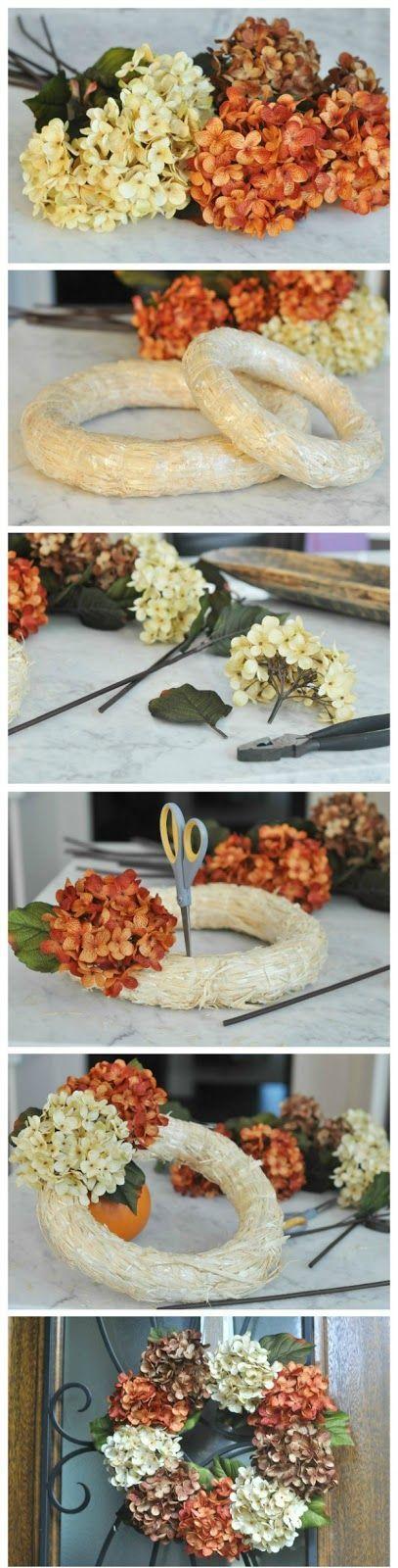 Honey We're Home: DIY Fall Floral Wreath