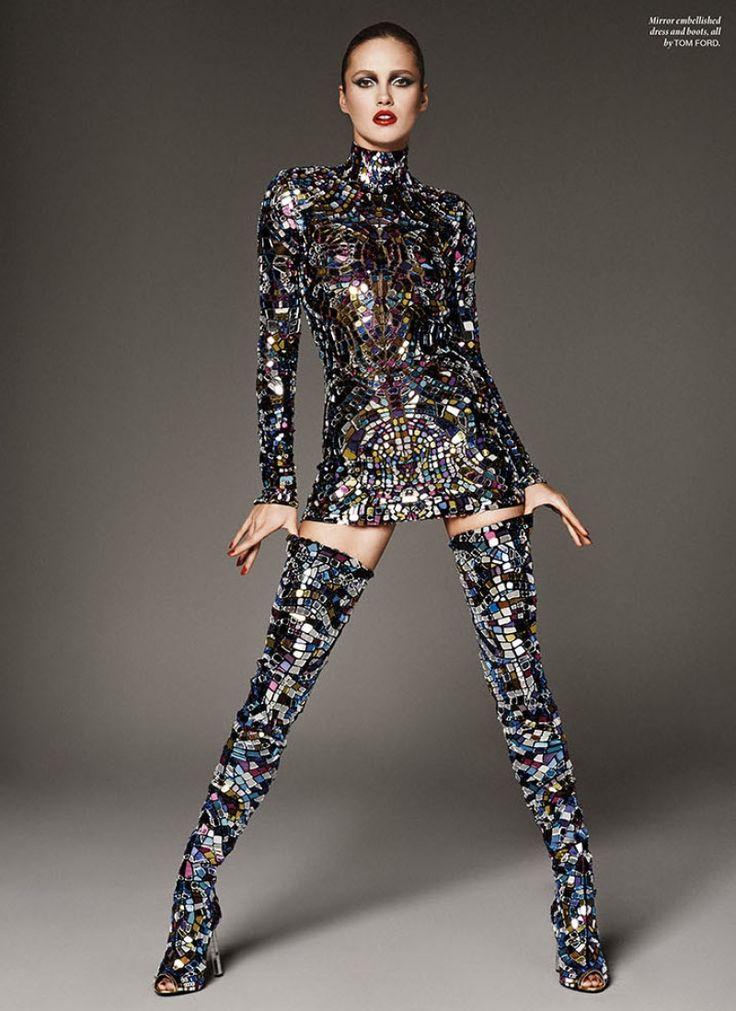 TFOTD: Karmen Pedaru Wears TOM FORD S/S 2014 for Vamp Magazine featured image