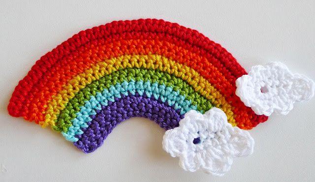 süße Häkelideen: Regenbogen häkeln