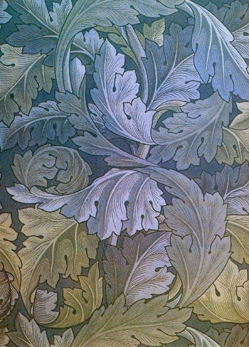 William Morris design. Source: http://www.cavetocanvas.com/post/29023493583/william-morris