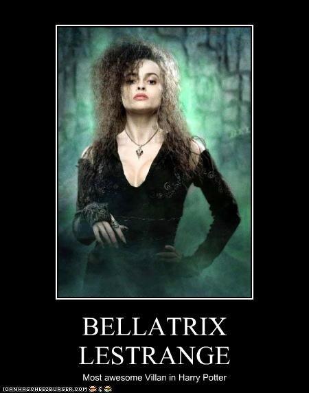 bellatrix is strange Slytherin 7th year 12¾ walnut, dragon heartstring core, very unyielding.
