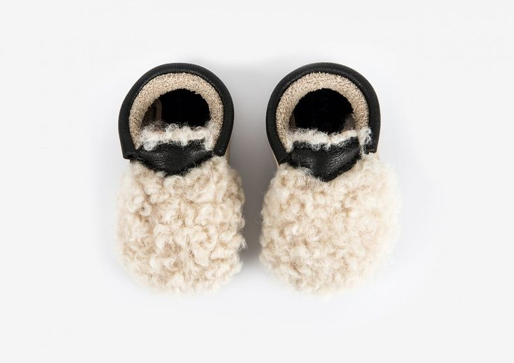 Amy & Ivor moccasins—Yeti