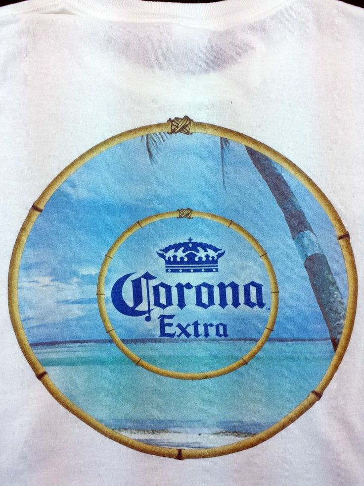 Corona Extra Beer XL White Cotton Mens T Shirt #Anvil