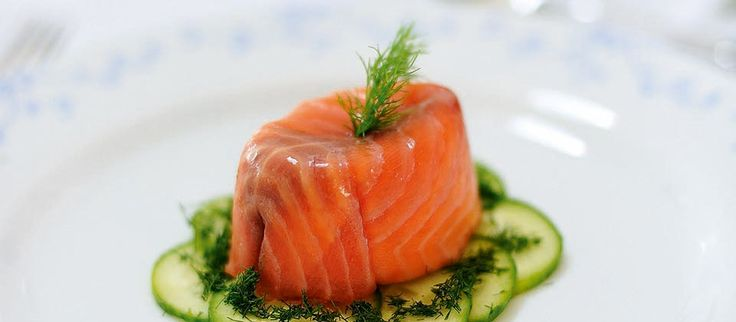 On Christmas Day, you want something special but easy to prepare – and this festive smoked salmon starter ticks both boxes.