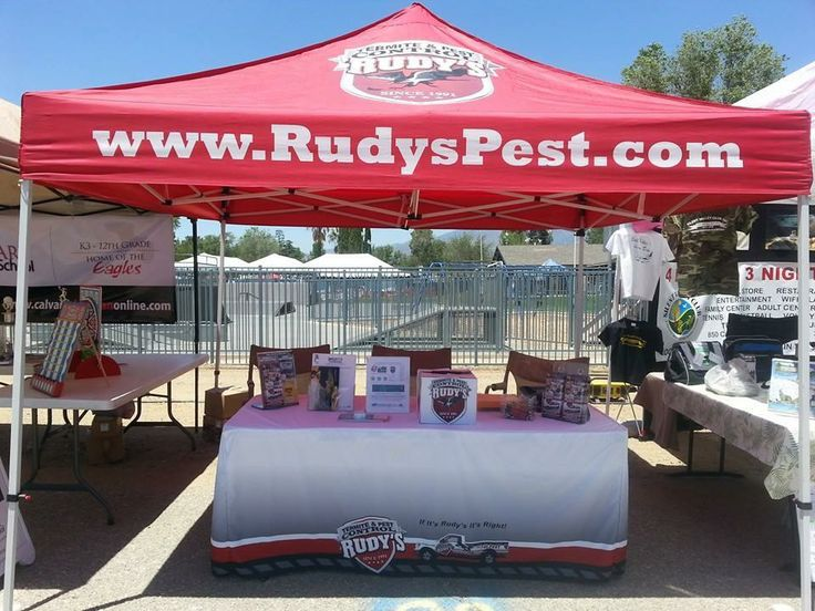Loving this tent setup for Rudy's Termite and Pest Control! Featuring work by http://www.DesertWraps.com Servicing Palm Springs, Cathedral City, Rancho Mirage, Palm Desert, La Quinta, Indian Wells, Indio, Coachella Valley.