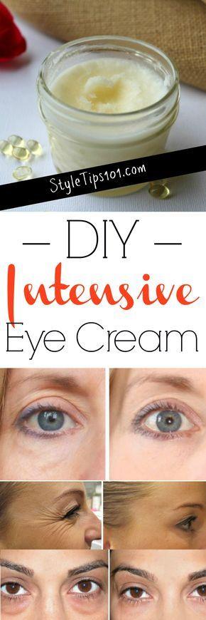 3 Ingredients Homemade Eye Cream