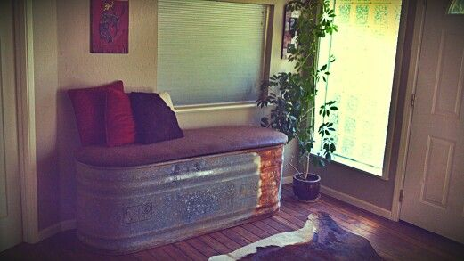 Water Trough Entry Bench Diy Pinterest Outdoor