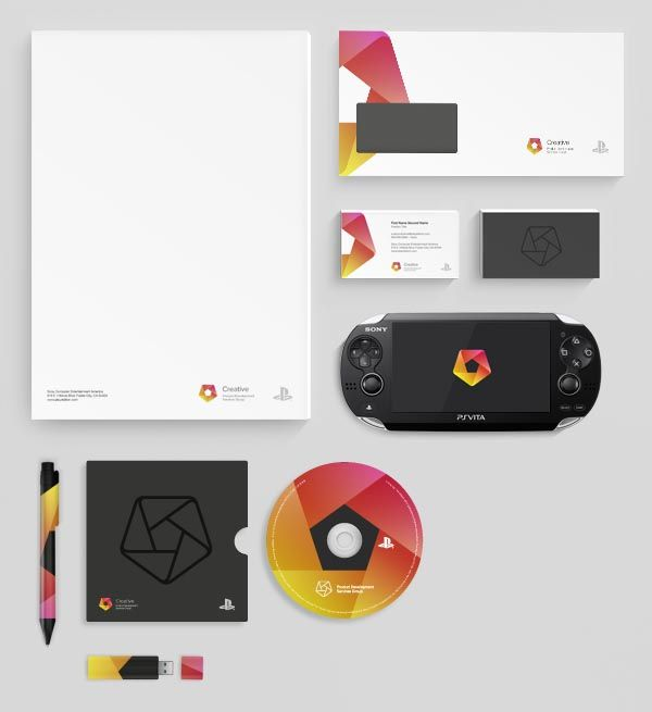 Corporate Design of Sony PlayStation's US based Creative Services Group