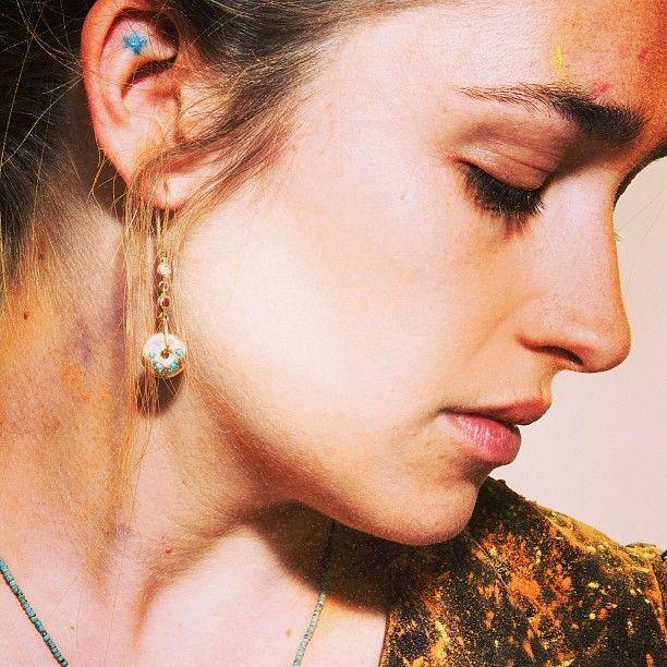 jemima kirke's ear tattoo