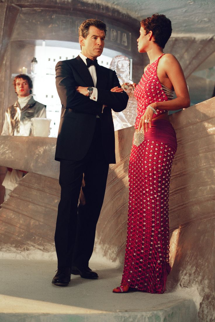 """Halle Berry  and Pierce Brosnan in """"Die Another Day"""" (2002)"""