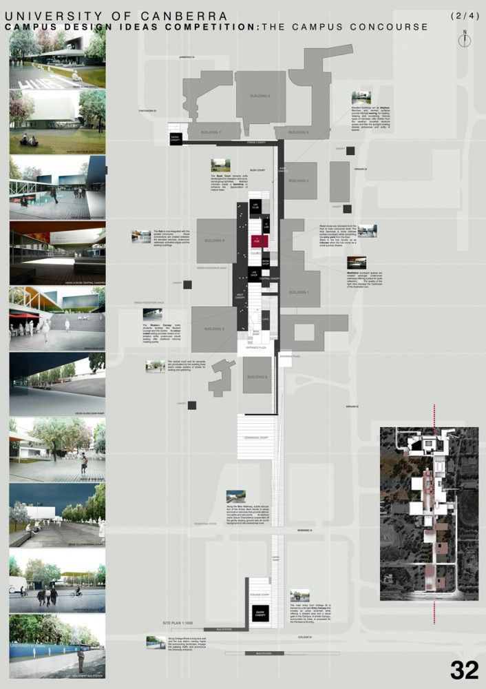 Gallery of University of Canberra Campus / MORQ - 1