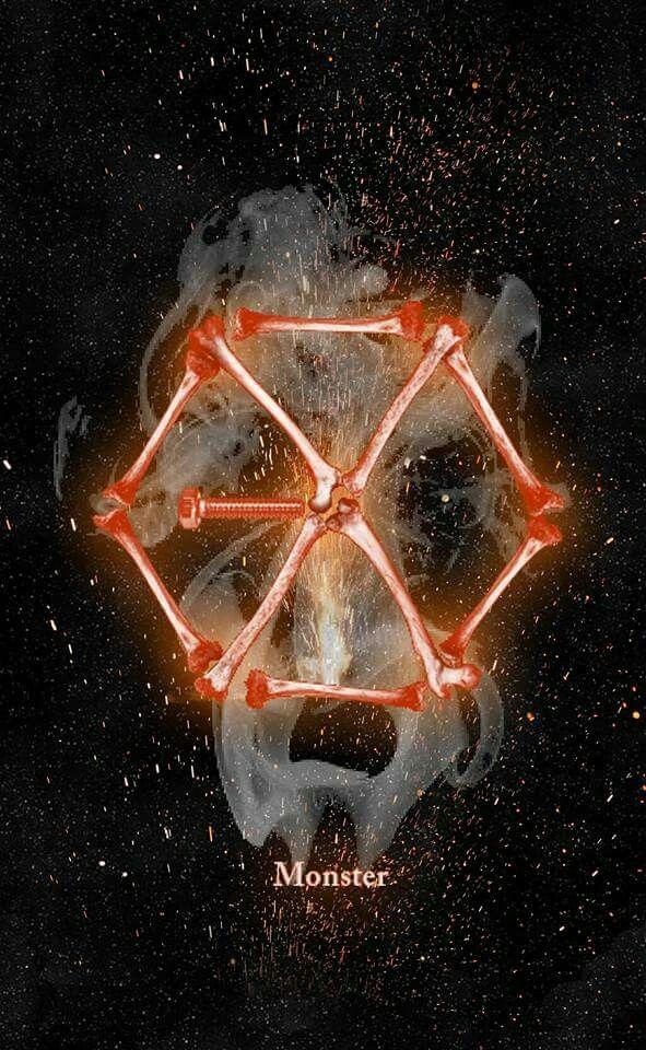 Exo Monster Wallpaper Exo Pinterest Exo Exo Monster Et Exo
