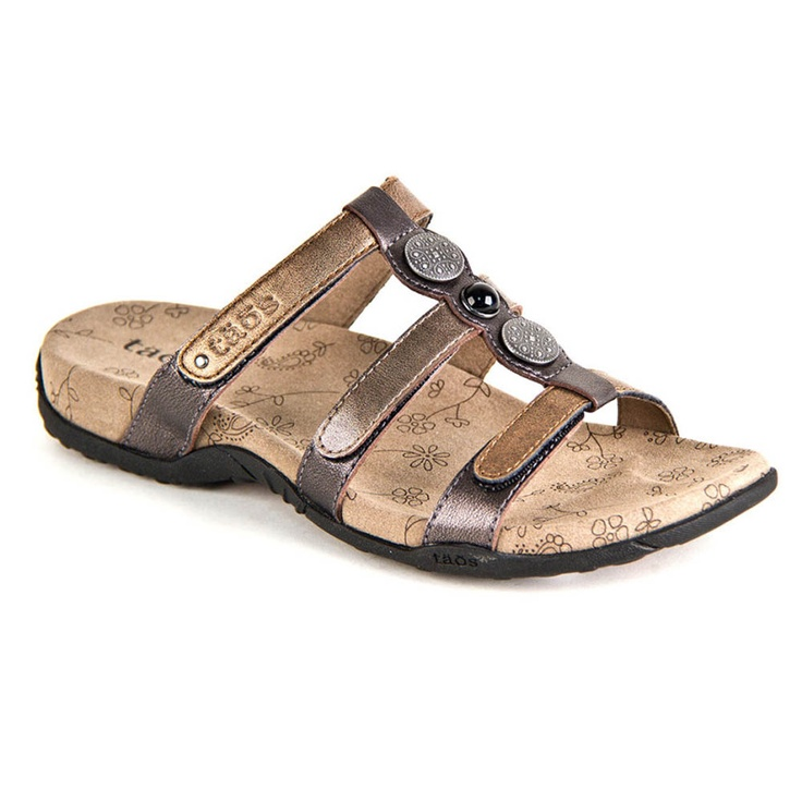 All sales final on clearance items.The womens Taos Prize slide sandal is a  great way to get adjustable, cute style.