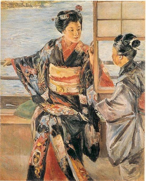 Kuroda Seiki, Maiko, 1920