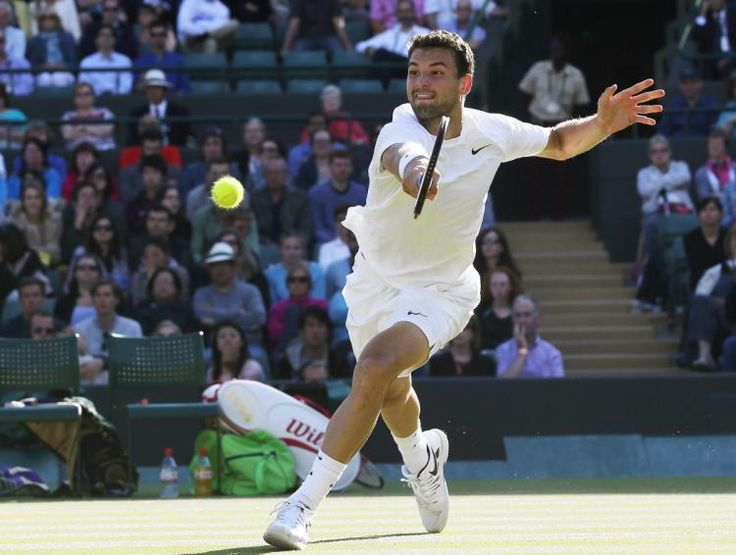 Coffey: Grigor Dimitrov making name for himself at Wimbledon - NY Daily News