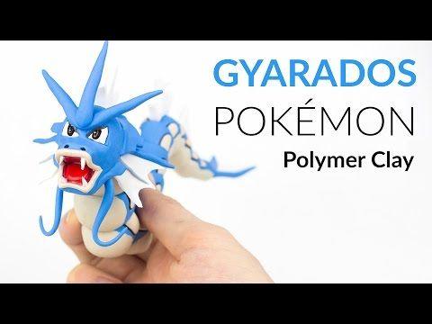 Gyarados Pokemon – Polymer Clay Tutorial - YouTube