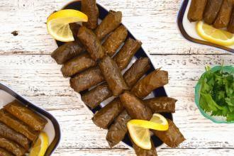 Готовим турецкую сарму с коричневым рисом