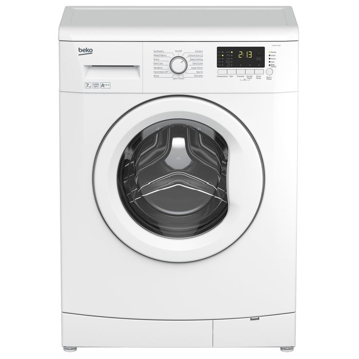 Beko WMB71233W White Freestanding Washing Machine | Departments | DIY at B&Q