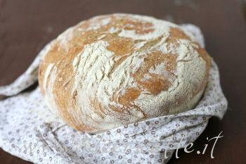 Ricetta Pane senza impasto – No knead bread