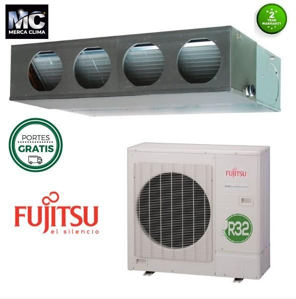 Aire Acondicionado Conductos Fujitsu Acy 100 K Ka R32 En 2020