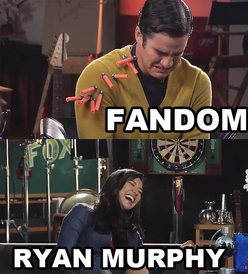 The Fandom and Ryan Murphy