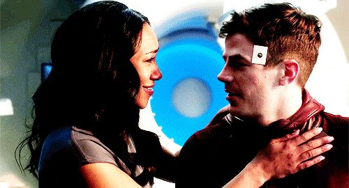 Words are failing me. The cuteness...the happiness...the I-don't-know-whatness! <3 Barry and Iris are always gonna be my babies <3 (gif from forwood on tumblr) |TV Shows||CW||#The Flash gifs||Season 3||3x17||Duet||Flash/Supergirl musical crossover||Barry Allen||Iris West||#Westallen hug gif||Grant Gustin||Candice Patton||#DCTV|