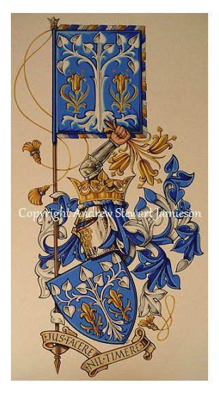 British Artist and Photographer Andrew Stewart Jamieson, Fine Art, Coats of Arms, Heraldry, Heraldic Art, Heraldic Artists, Coats of Arms, Illuminated Manuscripts, Letters Patent, Presentation Scrolls
