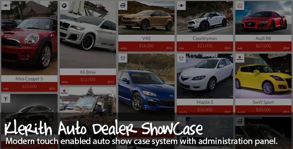 Klerith+Auto+dealer+showcase
