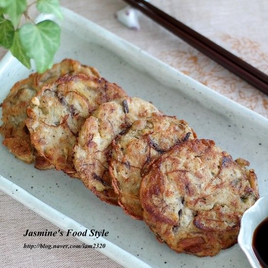 [Jasmine's Food Style] 녹두빈대떡 만드는 법 고기보다 맛있는 명절음식 녹두전 만드는 법 안녕하세요?...