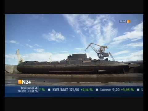 ▶ Soviet Typhoon class submarine video - YouTube
