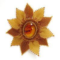 Sunnyamber handmade brooch – leFilomille